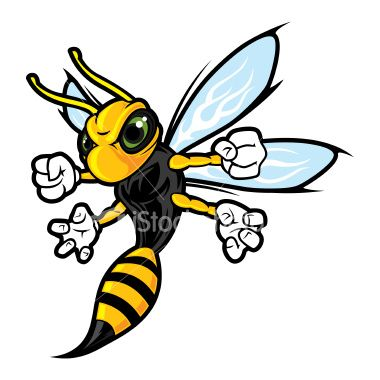 Hornet clipart mad. Cartoon pictures of wasps