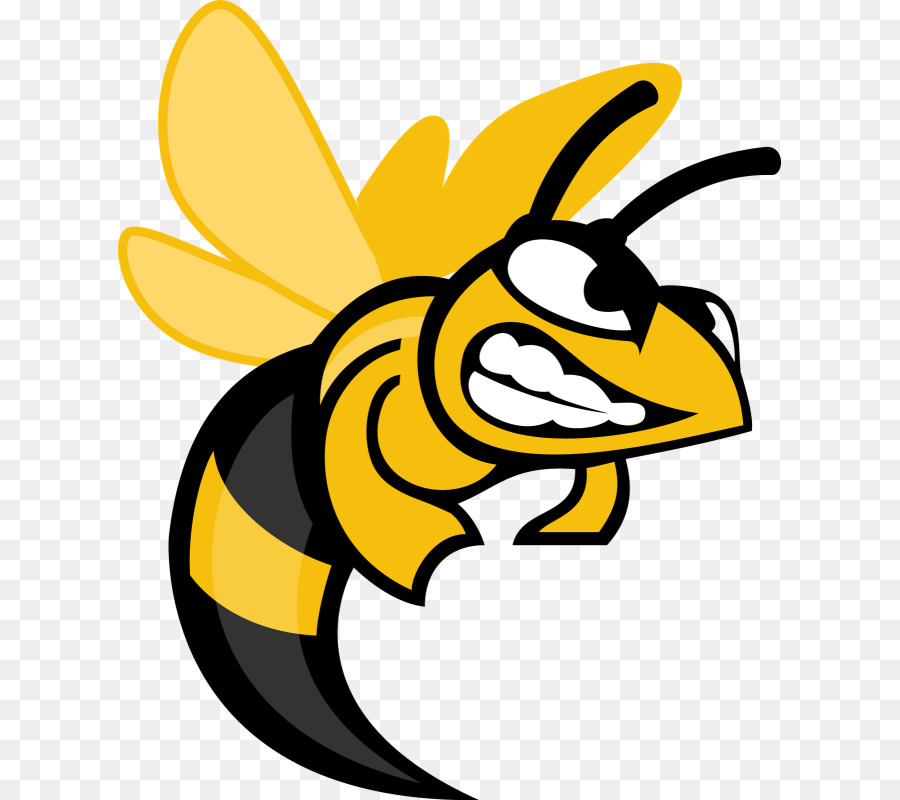Hornet clipart midwood. School black and white
