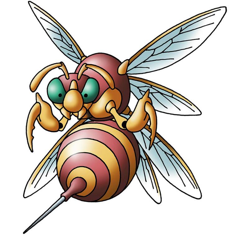 Hornet clipart super hornet. Hell dragon quest wiki
