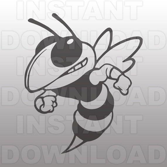 Hornet clipart svg. Pin on erika