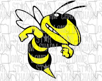 Etsy . Hornet clipart svg