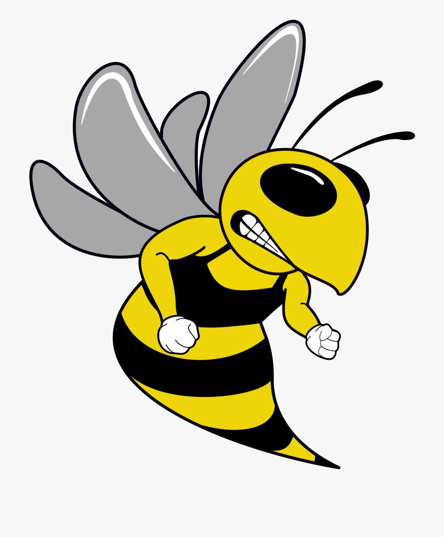 Hornet clipart svg. Swim team mascot free