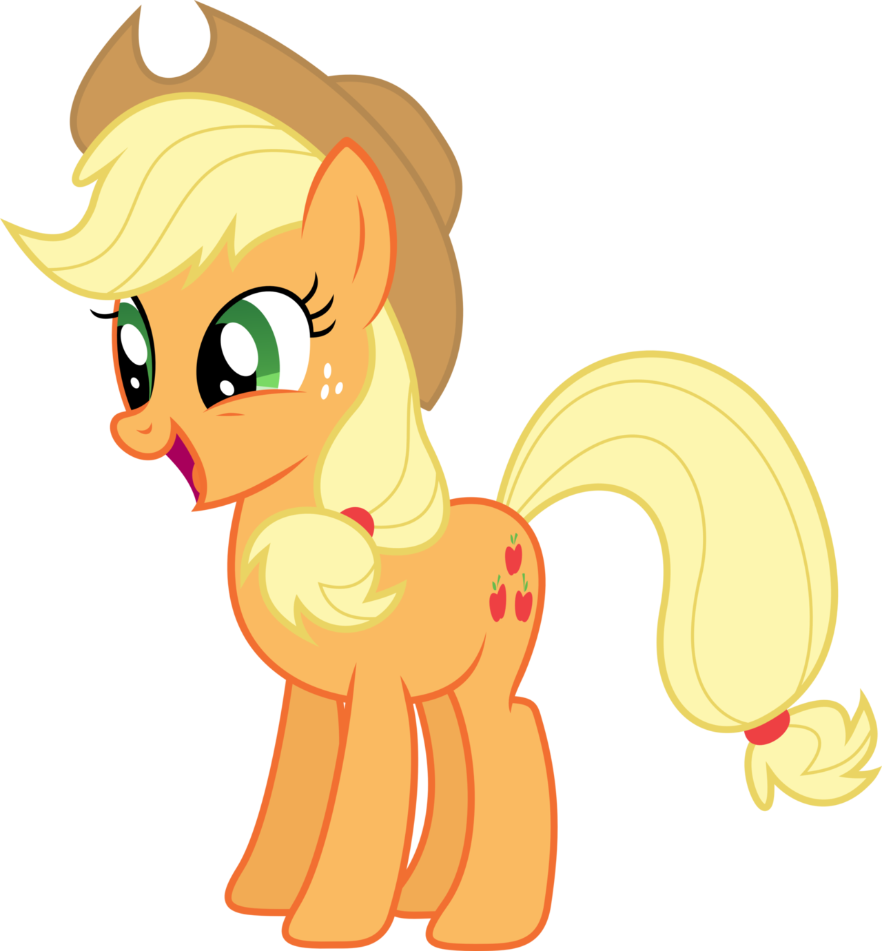 Which my little pony. Horse clipart ear