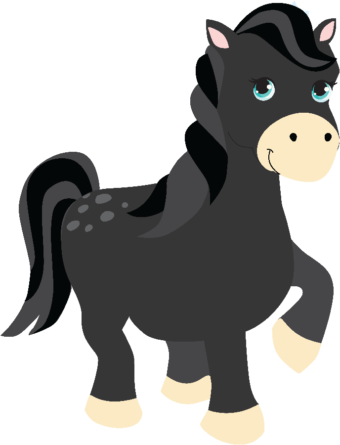 Princesa merida minus carrie. Horses clipart fairytale