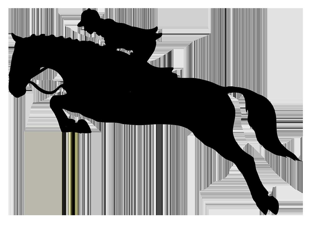Jumping horses pinterest silhouette. Horse clipart file