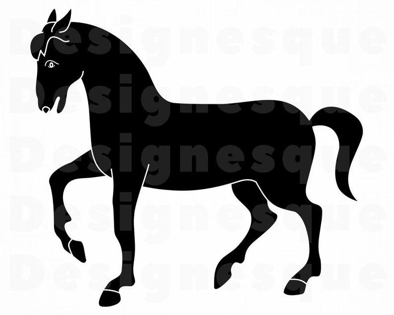 Svg files for cricut. Horse clipart file