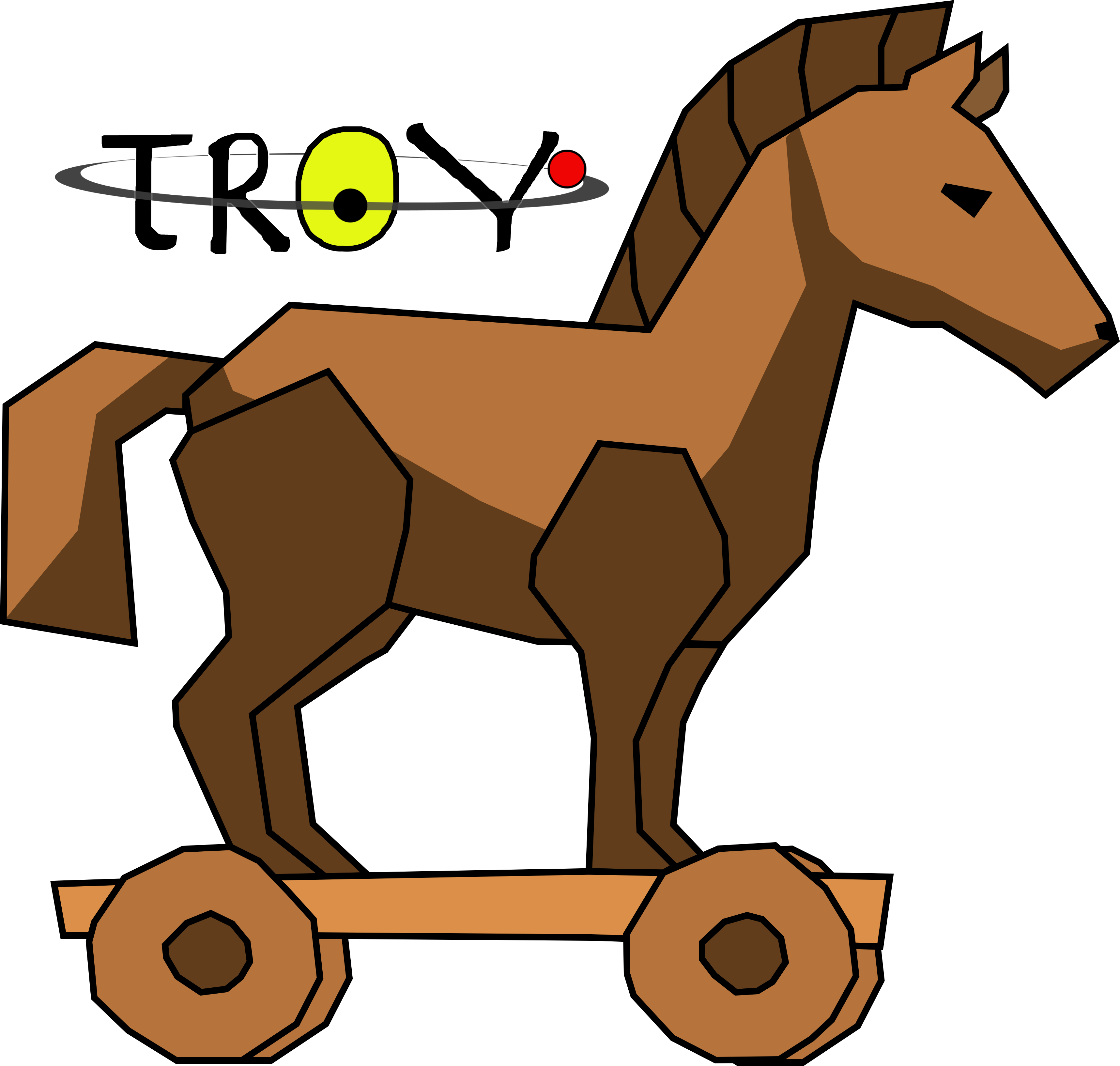 Trojan troy free collection. Horse clipart house