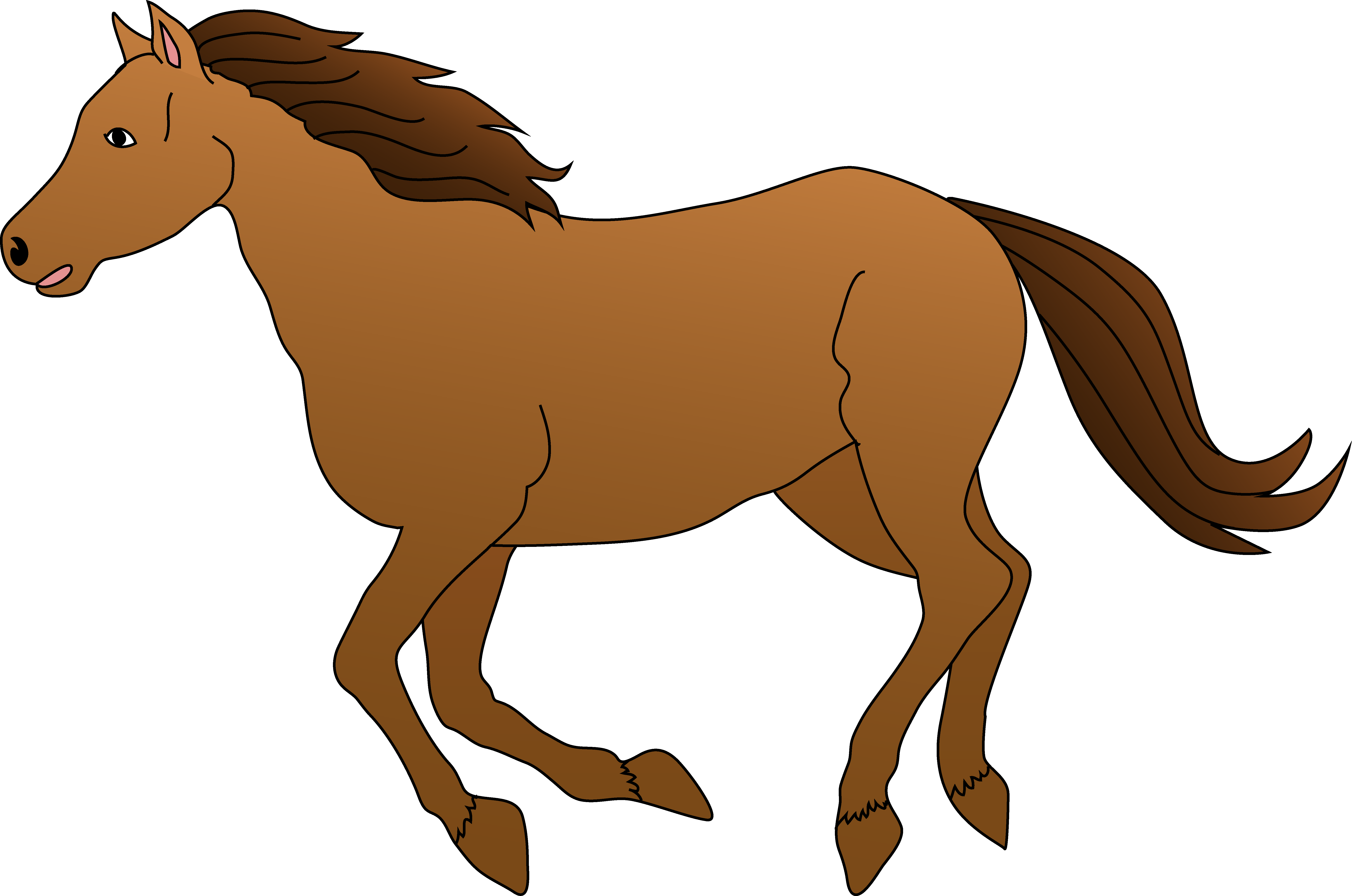 Horse clipart house. Free awesome graphic library