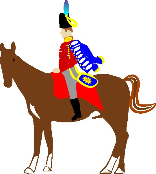 Horse clipart illustration. Soldier on clip art