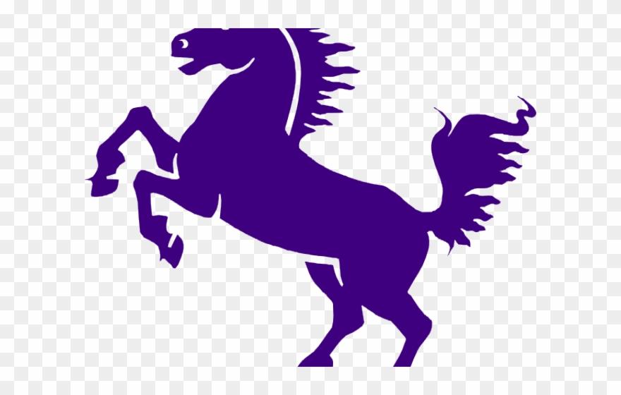 Purple horse png black. Mustang clipart clip art