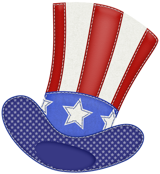 Patriotic hat png picture. Paper clipart weathered