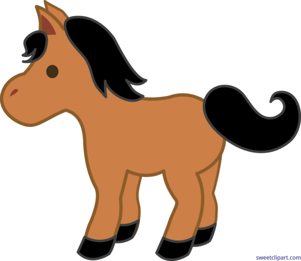 Sweet clip art page. Horse clipart pony