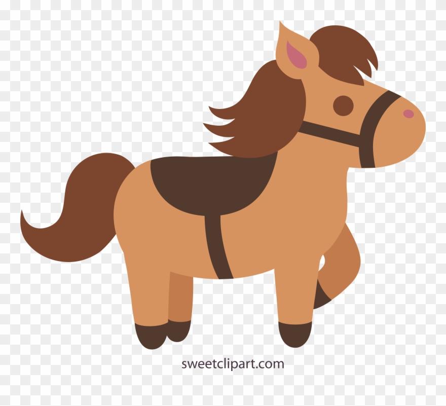 Horse clipart pony. Breathtaking cute cream colored