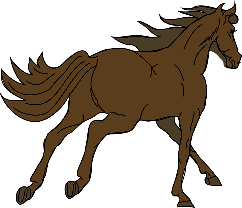 Free shop of library. Horse clipart quarter horse