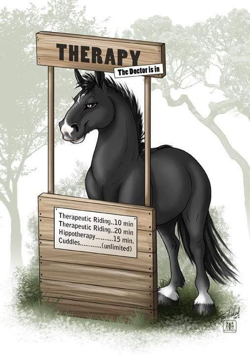 Horses clipart therapy. Fun group of people