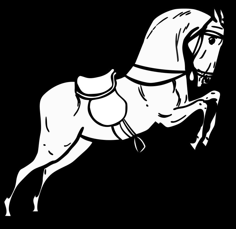 horse clipart wild horse