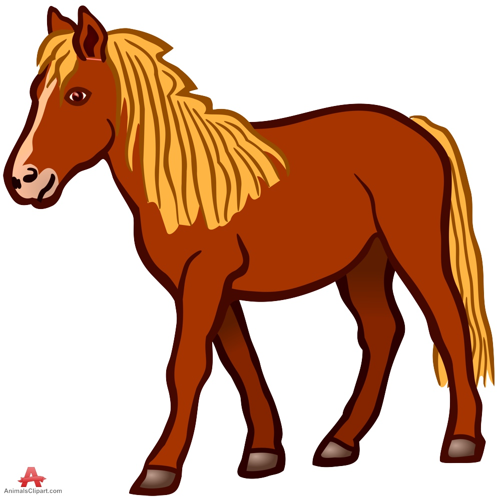 Station . Animals clipart horse