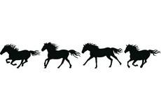 Horses clipart boarder. Horseshoe border free download