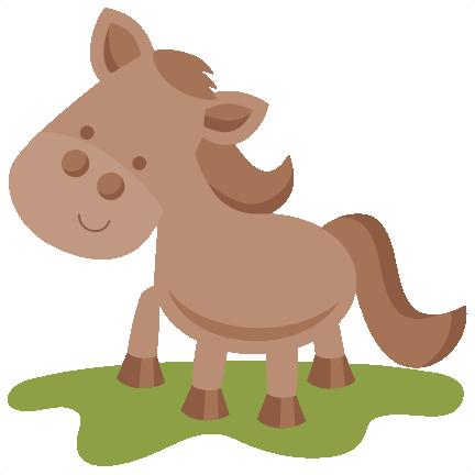 Free cute horse cliparts. Horses clipart file