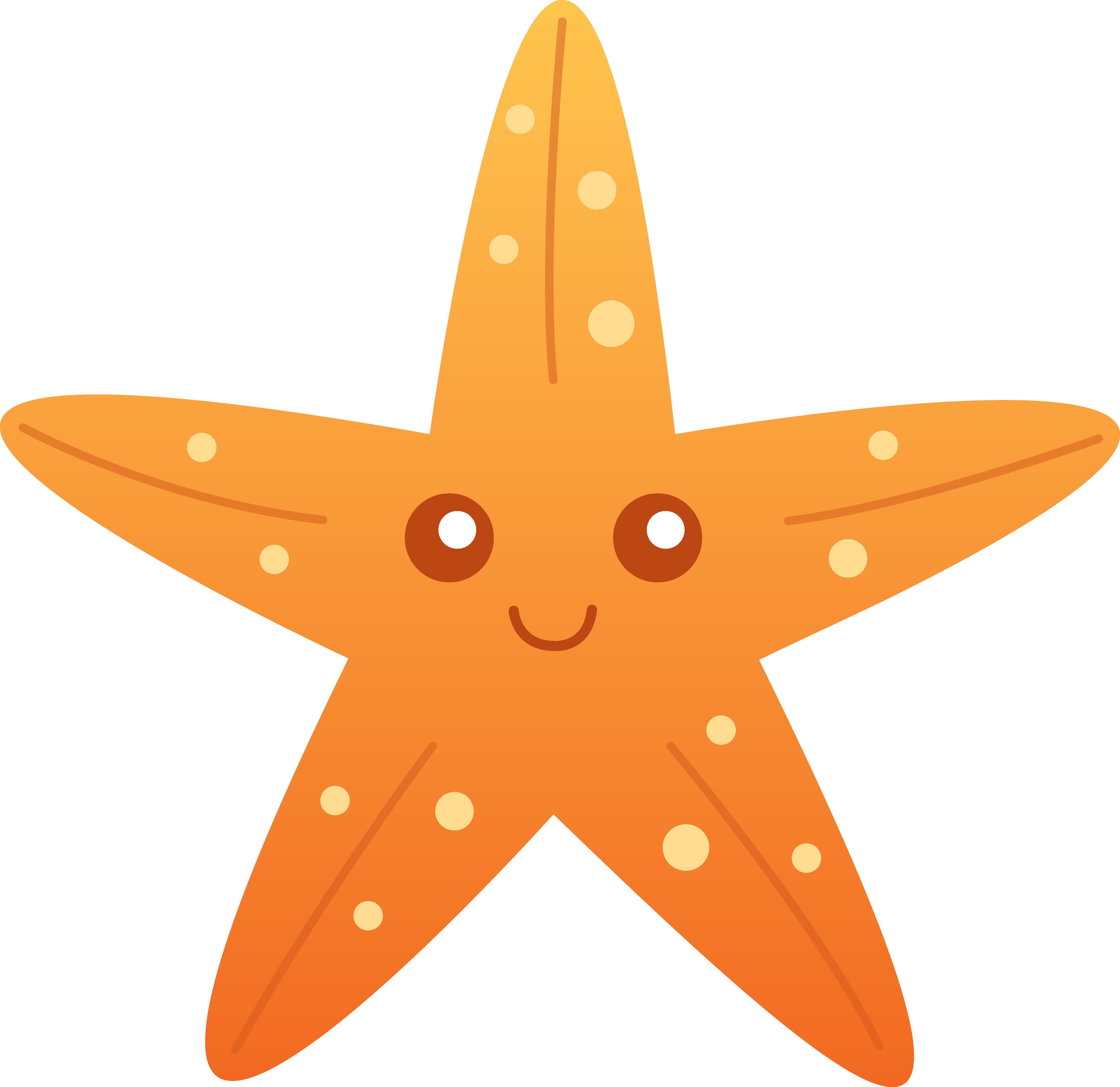 Peach clipart cute. Starfish panda free images