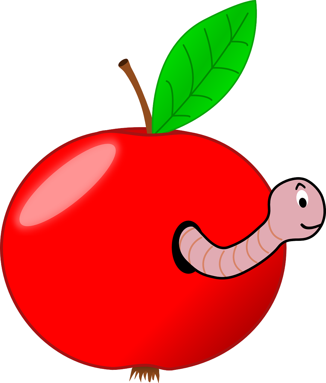 A new method for. Worm clipart one