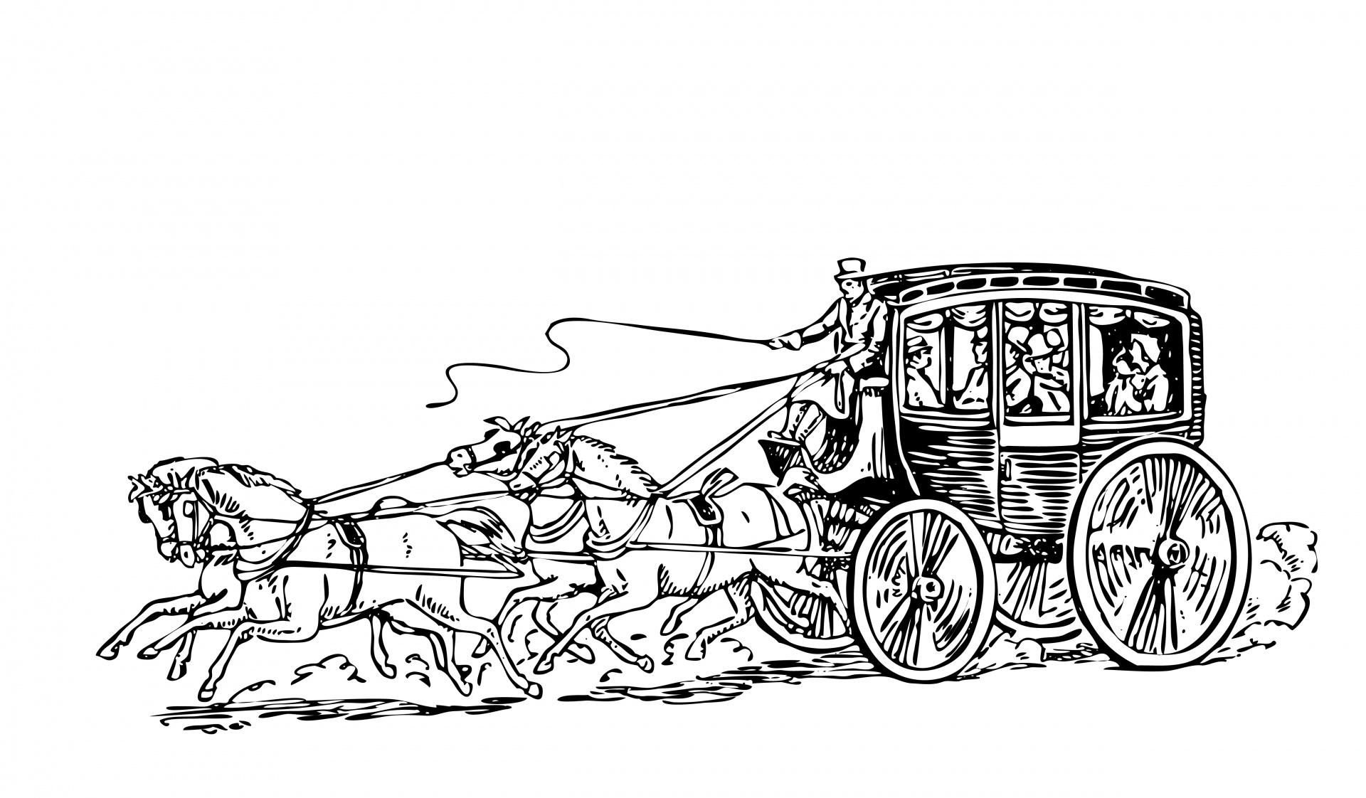 horses clipart transportation