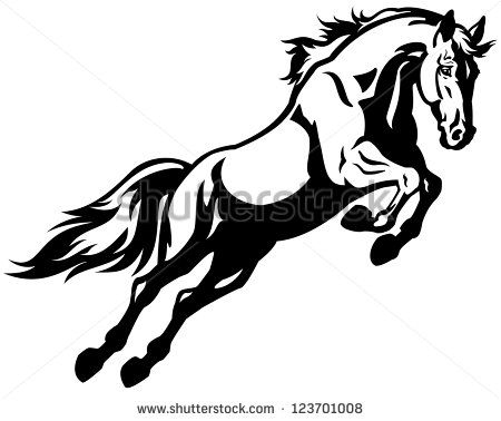 Free vector silhouettes pack. Horses clipart war horse