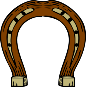 Horseshoe clipart. Clip art at clker