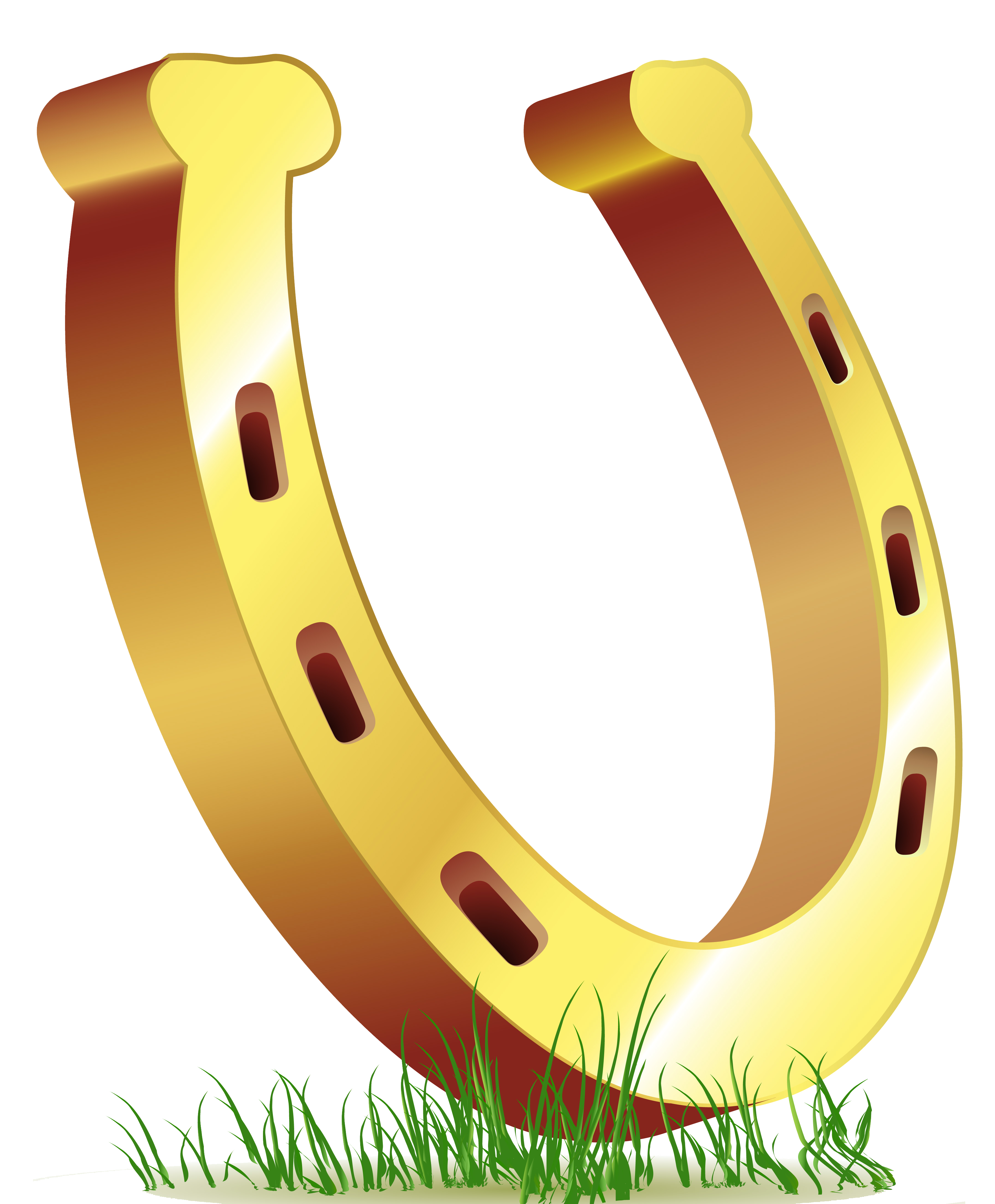 Horseshoe clipart. St patricks day png