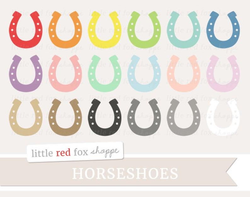 Horse shoe clip art. Horseshoe clipart cute