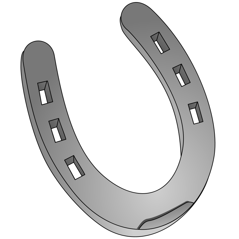 Horse shoe cliparts co. Horseshoe clipart double horseshoe