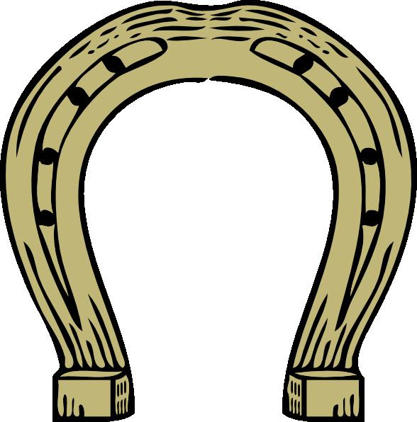 Horseshoe clipart double horseshoe. Clip art at clker