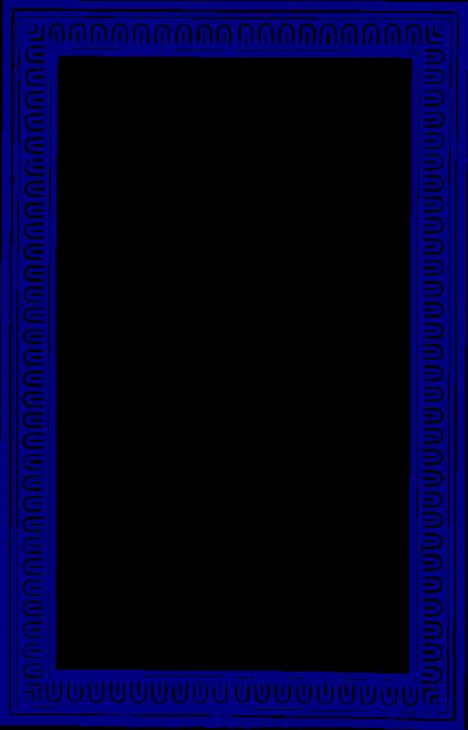 Solid blue medium image. Navy clipart frame