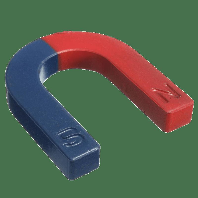 Red and blue transparent. Horseshoe clipart horseshoe magnet