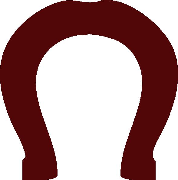 Horseshoe clipart letter. Group clip art vector
