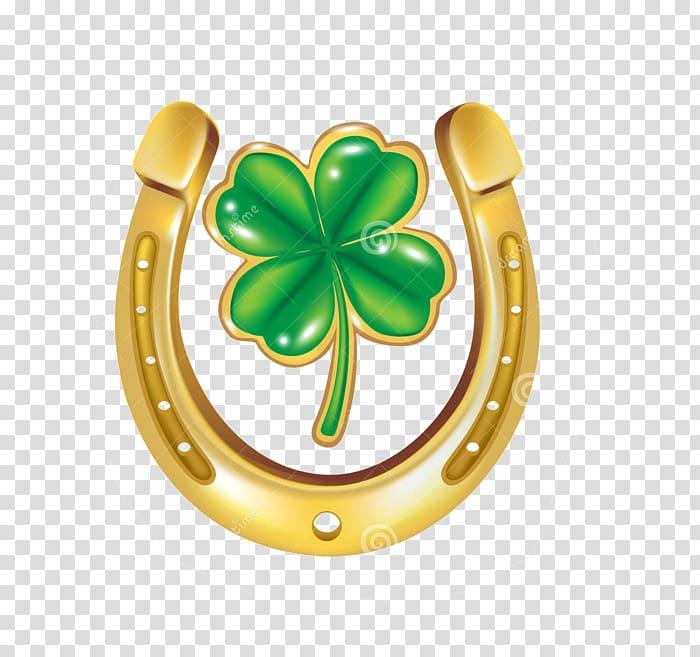 Horseshoe clipart luck. Horseshoes four leaf clover