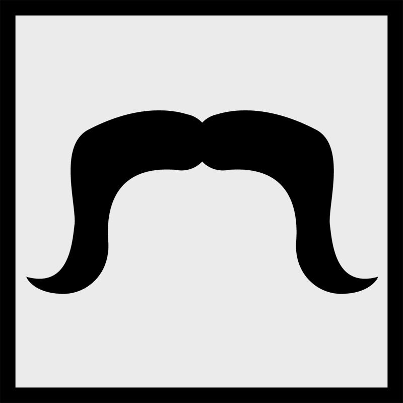 Mustache clipart horseshoe. Silhouette free download best