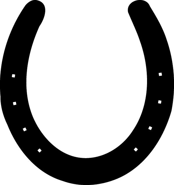 Horseshoe clipart printable. Horse shoe silhouette google