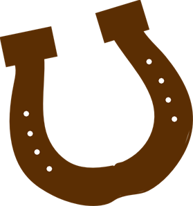 Brown png svg clip. Horseshoe clipart rodeo