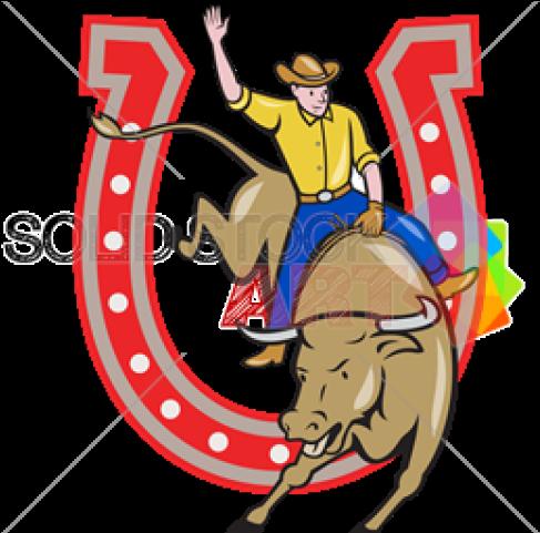 Horseshoe clipart rodeo. Cartoon png download