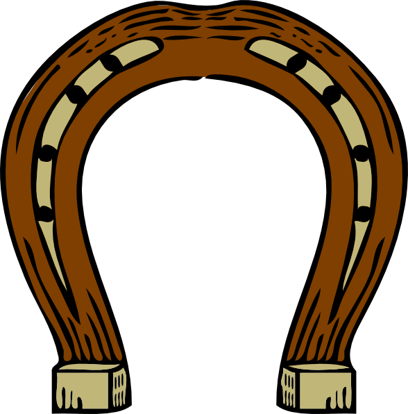 Horseshoe clipart small. Clip art at clker
