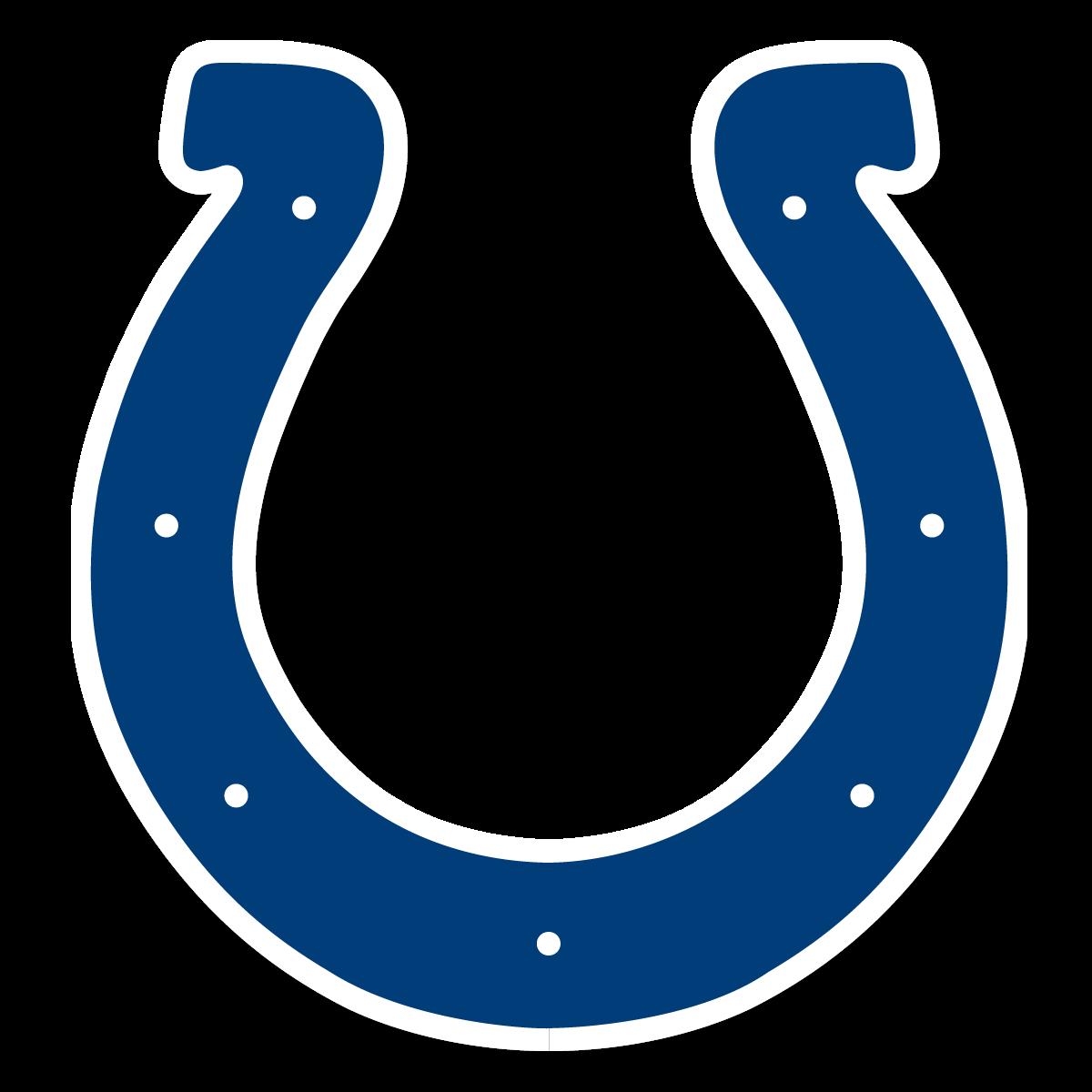Horseshoe clipart transparent background. Indianapolis colts logo png