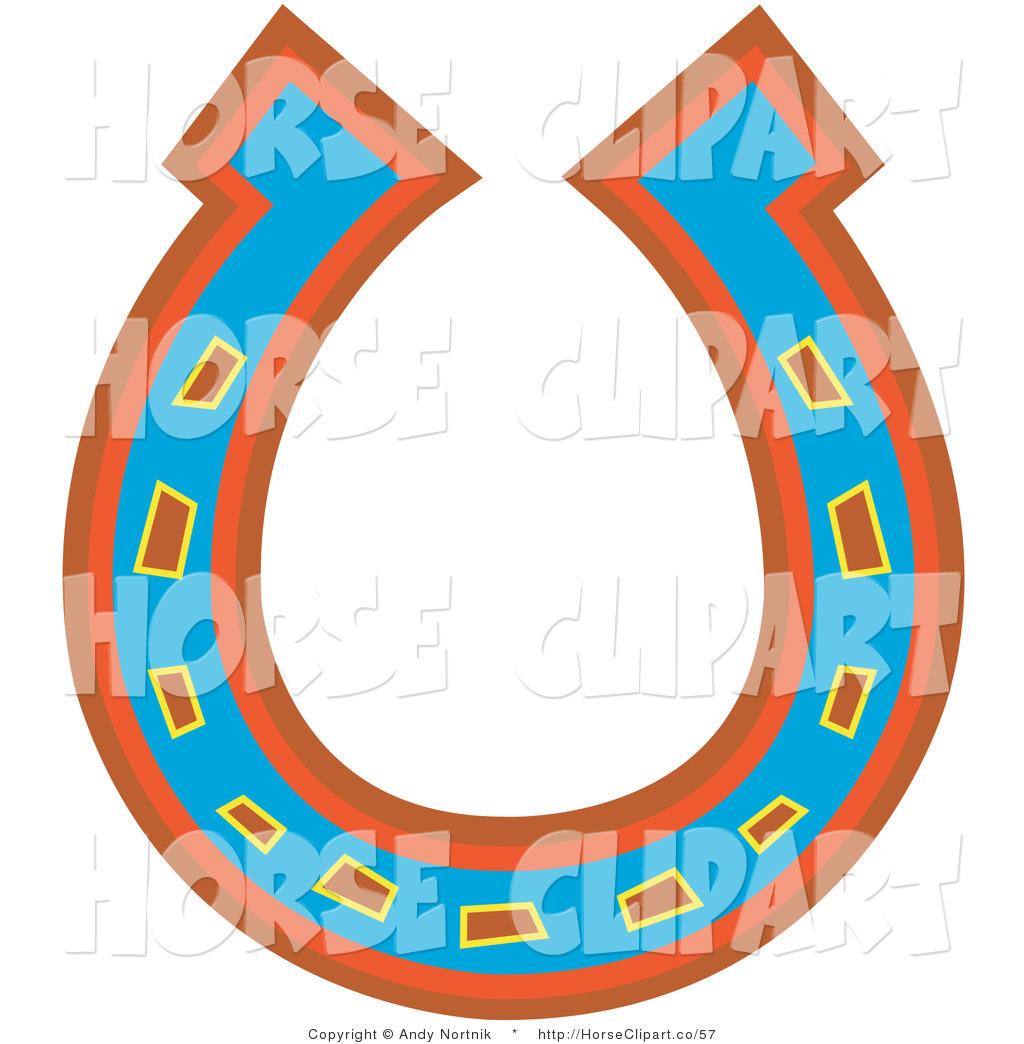 Horseshoe clipart upside down. Clip art of a
