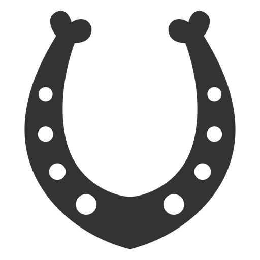 Horseshoe vector png. Talisman silhouette transparent svg