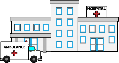 Hospital clipart. Clipartaz free collection image