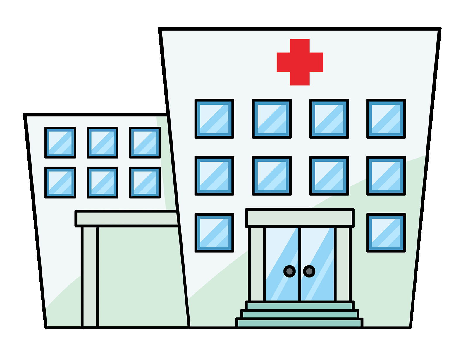 Hospital clipart. Cartoon unbelievable images transitionsfv