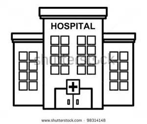 Letters example with . Hospital clipart black and white