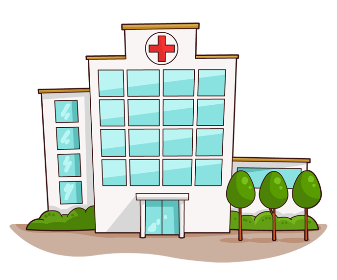 Hospital clipart facade. Index of wp content