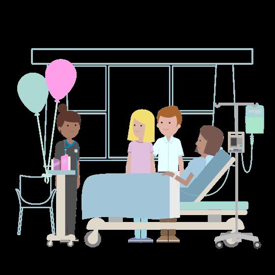 Mediclinic case studies visitors. Hospital clipart hospital admission