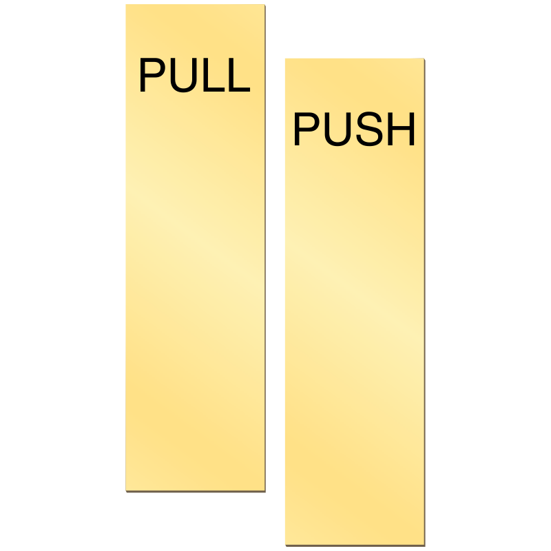 Hospital clipart signage. Push pull signs door